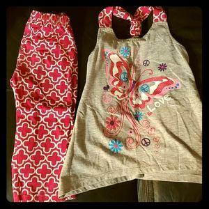 Bundle Girls 3 Outfits Matching Sets